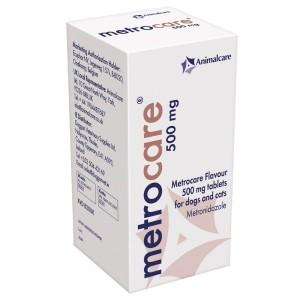 Metrocare, 500 mg/ 250 tablete