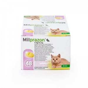 Milprazon Cat 4  10 mg ( 2 kg), 48 tablete