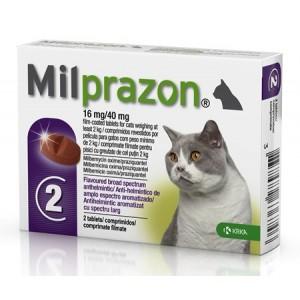Milprazon Pisica 2 - 8 kg 2 tablete