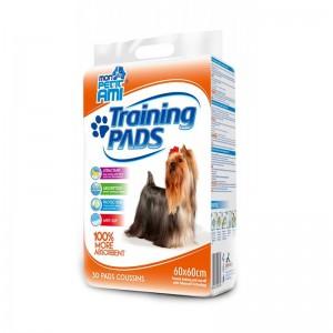 Covorase igienice absorbante, Pet Pad Mon Petit Ami, 60x60 cm, 30 buc