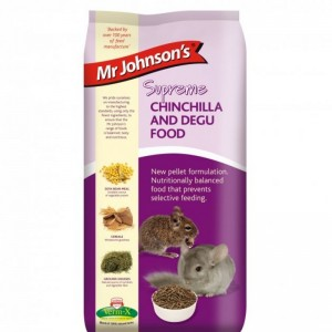 Hrana completa pentru chinchilla si degu, Mr. Johnson`s Supreme Chinchilla/ Degu, 900 g