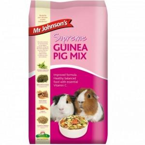 Mix pentru porcusorii de Guineea, Mr. Johnson`s Supreme Guinea Pig Mix, 15 kg