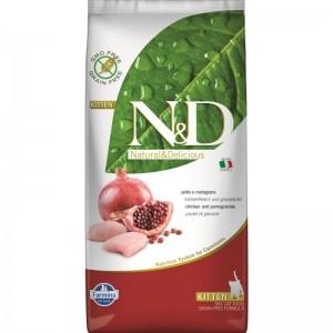 N&D Grain Free Cat Chicken and Pomegranate Kitten, 10 kg
