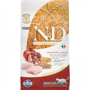 N&D Low Grain Cat Chicken and Pomegranate, 1.5 kg