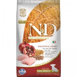 N&D Low Grain Chicken and Pomegranate Puppy Mini, 2.5 kg