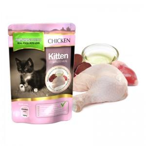 Hrana umeda pentru pisici junior, NATURES MENU KITTEN, 100 g