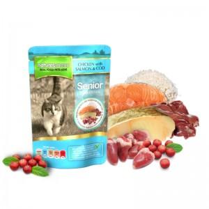 Mancare umeda pentru pisici senior, NATURES MENU CAT SENIOR, 100 g