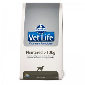 Vet Life Dog Neutered over 10kg Sac 2 kg