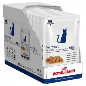 Royal Canin Neutered Weight Balance Cat 12 plicuri x 100 g bax