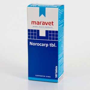 Norocarp 10 tab x 50 mg