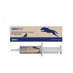 Nutravet Nutraflora Caini & Pisici, seringa, 20 ml