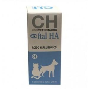 OFTAL HA nebulizator, solutie lavaj ocular pentru caini si pisici, 25 ml