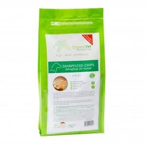 OrganicVet, chips igiena dentara, 500 g - punga