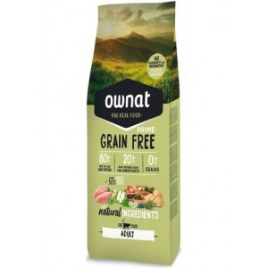 Ownat Grain Free Prime Adult Cat, 8 Kg