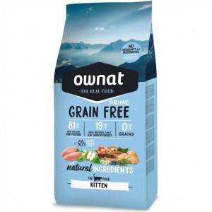 Ownat Grain Free Prime Kitten, 3 Kg