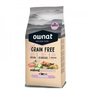 Ownat Just Grain Free Sterilized Cat, 8 Kg