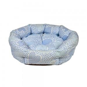 Pat confortabil oval, Comfort, 80 cm, diverse culori