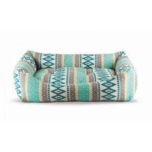 Patut confortabil, Azul, 80x65x22 cm
