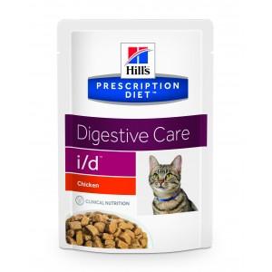 Hill's PD id Digestive Care hrana pentru pisici cu pui 85 g (plic)