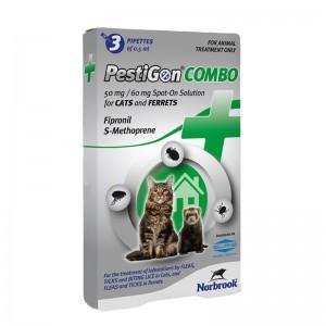 PestiGon Combo Cat 50 mg  60 mg, 3 pipete
