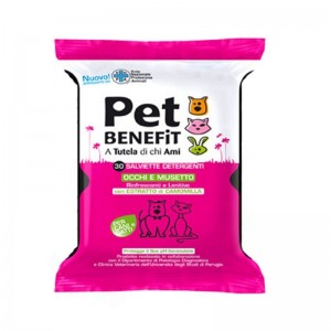 Pet Benefit Servetele Ochi & Bot, 30 buc