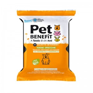 Pet Benefit Servetele Urechi, 30 buc
