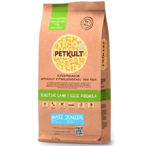 Petkult Maxi Junior Sensitive Miel&Orez 12kg