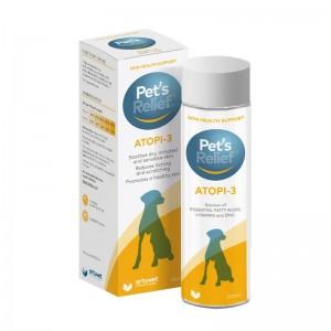 Supliment pentru piele Pet's Relief ATOPI-3, 200 ml