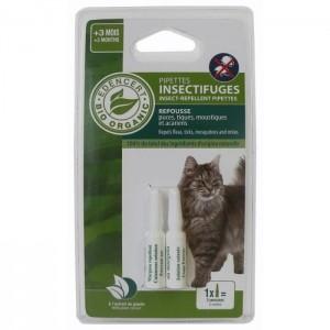 Pipeta insectifuga BIO, pisici, 2 x 0.6 ml