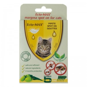 Pipeta Spot-on Ecto-MAX Cat, 5 x 1 ml