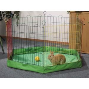 Husa suport pentru tarc iepuri, 6 laturi, 60x60x10 cm