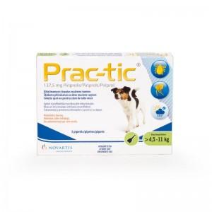 Prac-tic S 137,5 mg (4.5 - 11 kg), 3 pipete
