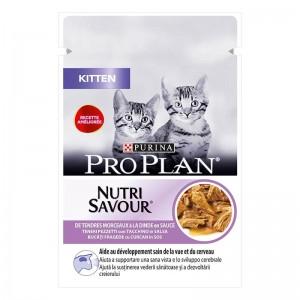 Pro Plan Kitten NutriSavour Curcan, 85 g