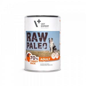 Raw Paleo Adult Dog DP, curcan & rata 400 g