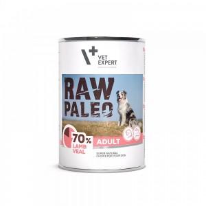 Raw Paleo Adult Dog DP, miel & vitel 400 g