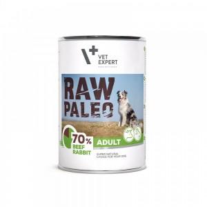 Raw Paleo Adult Dog DP, vita & iepure 400 g