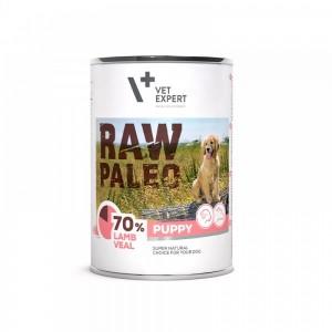Raw Paleo Puppy DP, miel & vitel 400 g