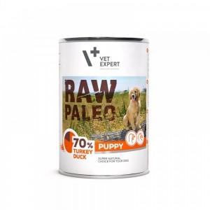 Raw Paleo Puppy DP, curcan & rata 400 g