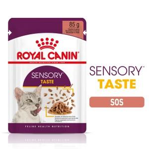 Royal Canin Sensory Taste, hrana umeda pisica (in sos), 12x85 g - taste
