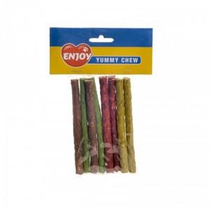 Recompensa caini baton color, Enjoy, 8 buc