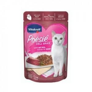 Hrana umeda pisici, Vitakraft Plic Poesie, Inima in Sos, 85 g