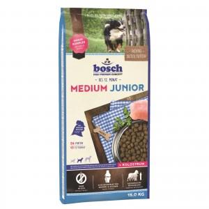 Hrana uscata caini, Bosch Medium Junior, 15 kg