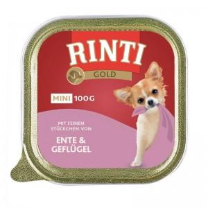 Rinti Gold Mini Pate Rata si Pui, 100 g