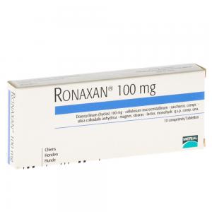 Ronaxan 100 mg/ 10 tablete