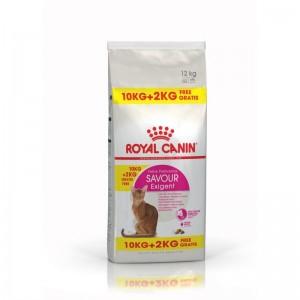Royal Canin Feline Exigent Savour Sensation 10 Kg + 2 Kg CADOU