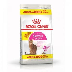 Royal Canin Feline Exigent Savour Sensation, 400 g + 400 g CADOU