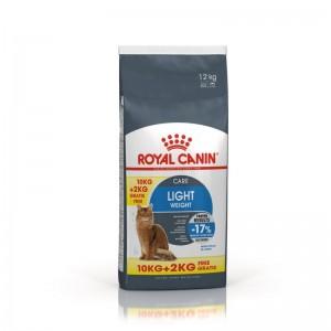 Royal Canin Feline Light Weight Care 10 kg + 2 kg CADOU