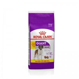 Royal Canin Giant Adult 15 Kg + 3 Kg CADOU