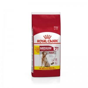 Royal Canin Medium Adult (7+)  15 Kg + 3 Kg CADOU