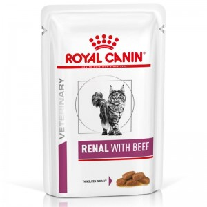 Royal Canin Renal with Beef, 1 plic x 85 g